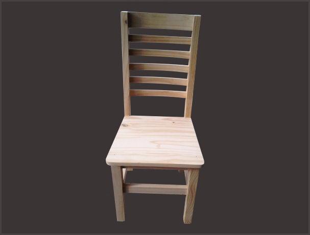 Sillas de pino popino for Fabrica de muebles de pino